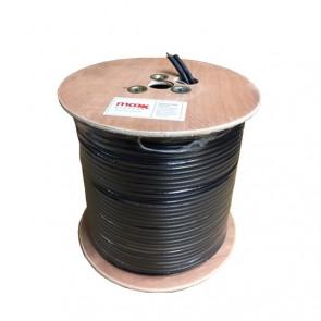 MaxxOne RG6 Foam Filled Twin Coaxial Cable 100m