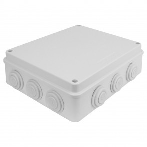 MaxxOne External Junction Box - Size : 255x200x80mm IP65 [White]