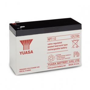 YUASA Y7-12 12 Volt 7.0Ah Sealed Lead Acid Battery